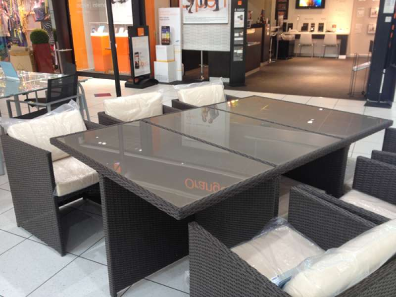 table jardin magasin leclerc. Black Bedroom Furniture Sets. Home Design Ideas